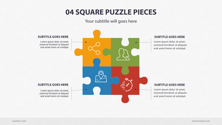 Puzzle diagram keynote by creapack graphicriver puzzle diagram keynote ccuart Choice Image
