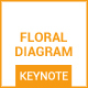 Floral Diagram - Keynote - GraphicRiver Item for Sale