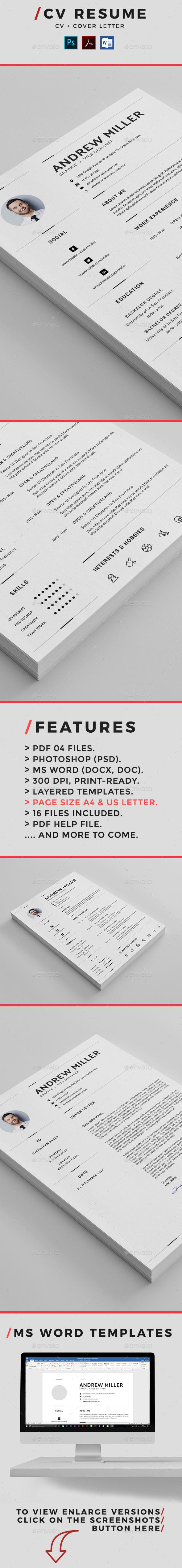 GraphicRiver Resume 20984042