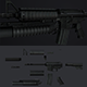 M4A1 Realistic Gun Full Edition - 3DOcean Item for Sale