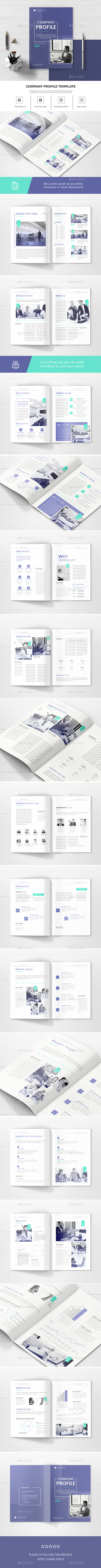 GraphicRiver Company Profile 20984264