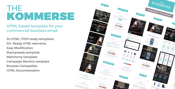 ThemeForest The Kommerse Business Email Template 20864117