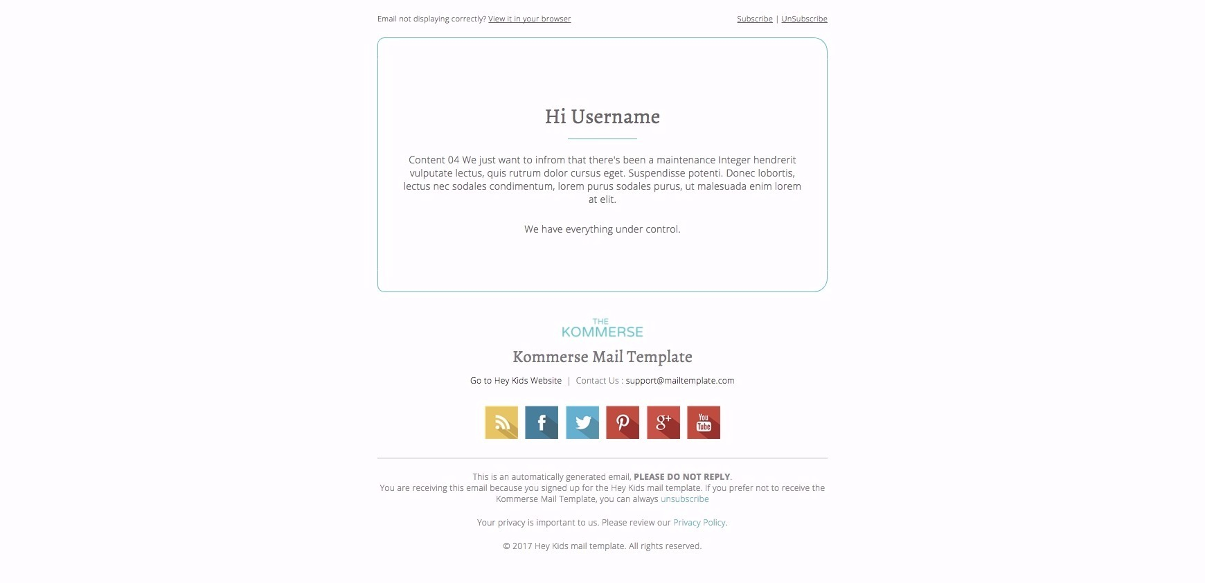 The kommerse business email template by bnrcreativelab themeforest the kommerse business email template pronofoot35fo Gallery