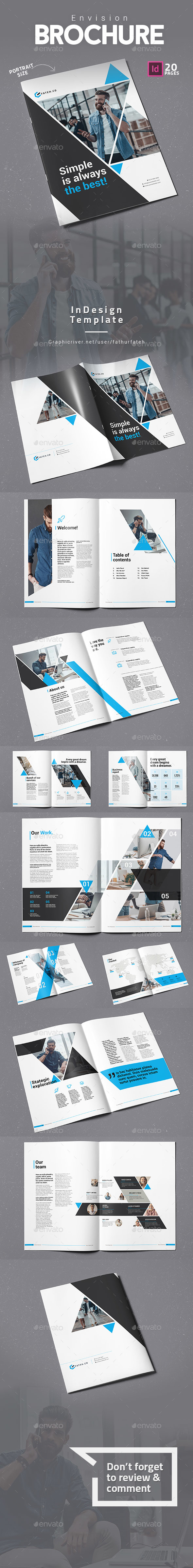 GraphicRiver Envision Brochure 20984328
