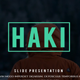 Haki Creative Powerpoint Template