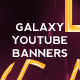 3 Galaxy Youtube Banners - GraphicRiver Item for Sale