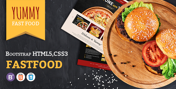 ThemeForest Yumme HTML Template for Pizza Food Coffee & Drink Restaurant Bar Cafe Shop Takeaway Delivery 20984569