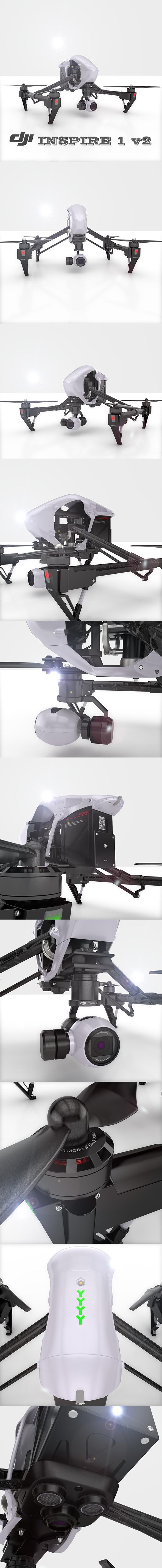3DOcean DJI Inspire1 Drone 20984587