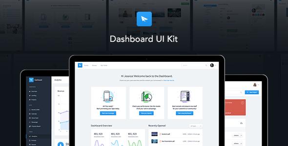 Dashboard UI Kit   Admin Dashboard Template & UI Framework