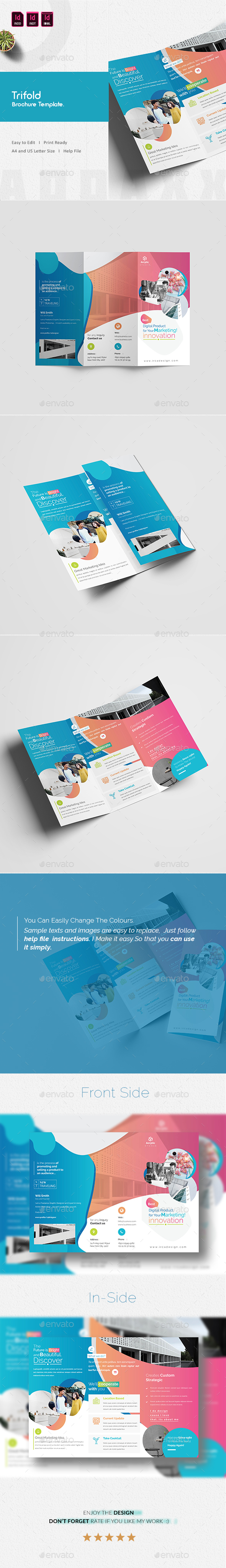 GraphicRiver Trifold Brochure 20984641