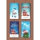 Holly Jolly Greeting Cards Merry Christmas - GraphicRiver Item for Sale