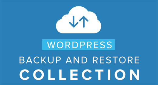 Wordpress Backup And Restore Collection
