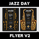 Jazz Day Flyer Template V2 - GraphicRiver Item for Sale