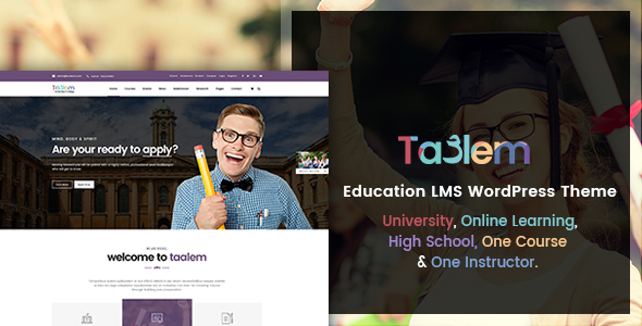 Download Taalem – Education LMS WordPress Theme            nulled nulled version