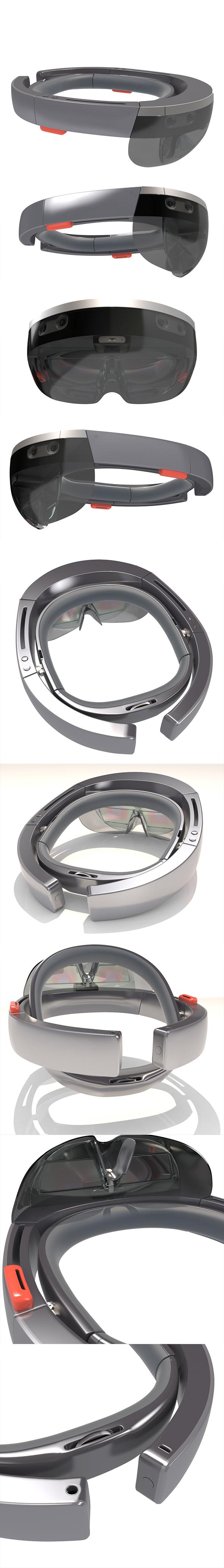 Hololens Microsoft 3D model - 3DOcean Item for Sale