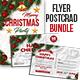 Christmas Flyer PostCard Bundle