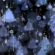Snowflakes and Christmas Tree Background - VideoHive Item for Sale