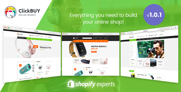 Image of ClickBuy - Multi Store Responsive Shopify Theme