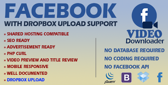 CodeCanyon OraFB Video Download Facebook 20985267