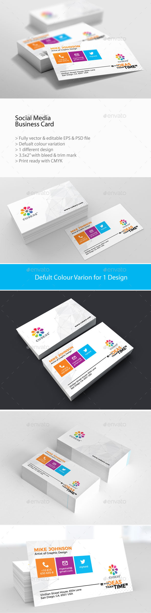 GraphicRiver Corporate Business Card 20985278