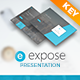 Expose Keynote Presentation Template - GraphicRiver Item for Sale