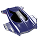 Hover car H3 - 3DOcean Item for Sale