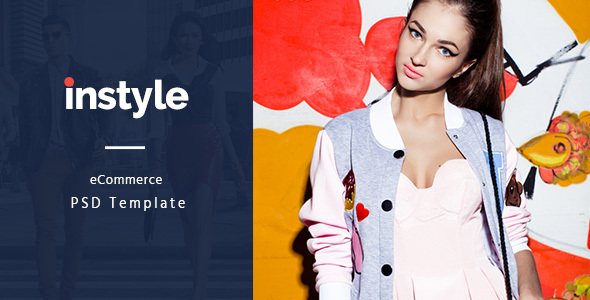 Instyle – eCommerce PSD Template - Fashion Retail
