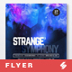Strange Symphony vol.3 - Progressive Party Flyer / Poster Artwork Template A3