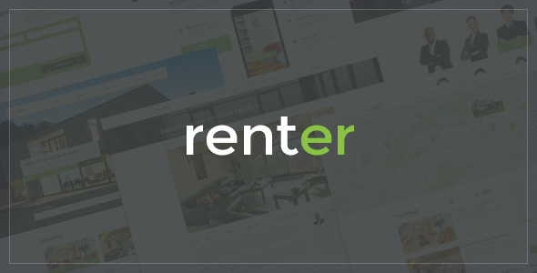 Renter - Property Rent Sale Real Estate Agency WordPress Theme