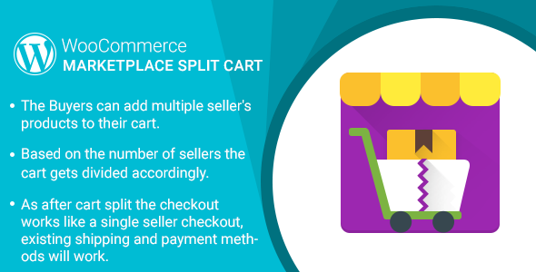 WordPress WooCommerce Marketplace Split Cart Plugin - CodeCanyon Item for Sale