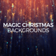 Magic Christmas Backgrounds - VideoHive Item for Sale