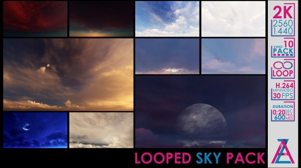 VideoHive Sky Pack 20985876