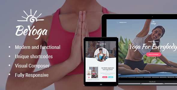 Image of BeYoga | Yogastudio & Gym WP Theme
