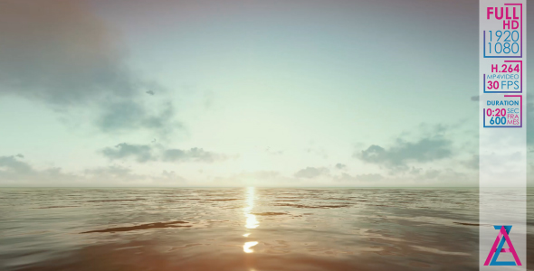 VideoHive The Sun is Flying Over The Horizon 20986052