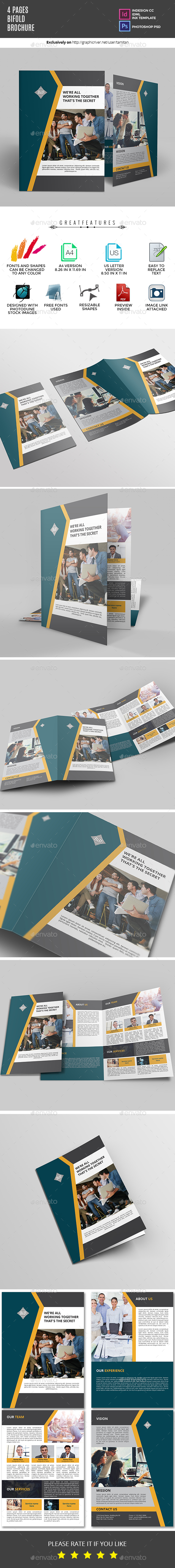 GraphicRiver Bifold Brochure 20986884