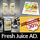 Fresh Juice Advertising Bundle - GraphicRiver Item for Sale