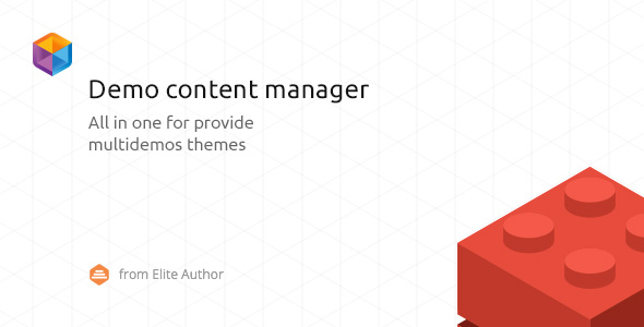 WordPress Demo Content Manager - CodeCanyon Item for Sale