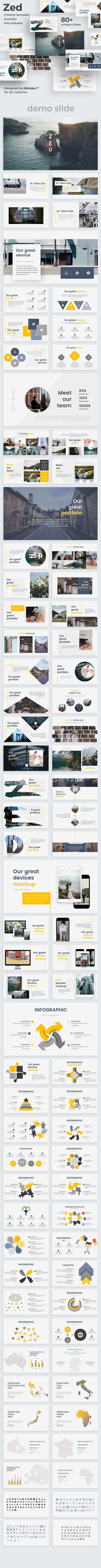 Zed Creative Powerpoint Template - Creative PowerPoint Templates