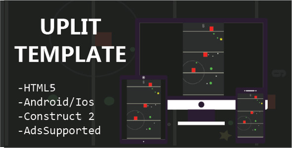 UPLIFT Template (HTML5 Game + Construct 2 CAPX) - CodeCanyon Item for Sale