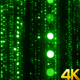 Sparkling Green Particles Background - VideoHive Item for Sale