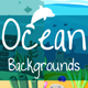 Parallax Ocean 2D Backgrounds - GraphicRiver Item for Sale