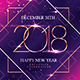 New Year Party - Invitation - GraphicRiver Item for Sale