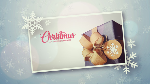 VideoHive Christmas Photo Winter Slideshow 20987260