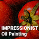 Impressionist Oil Painting Template - GraphicRiver Item for Sale