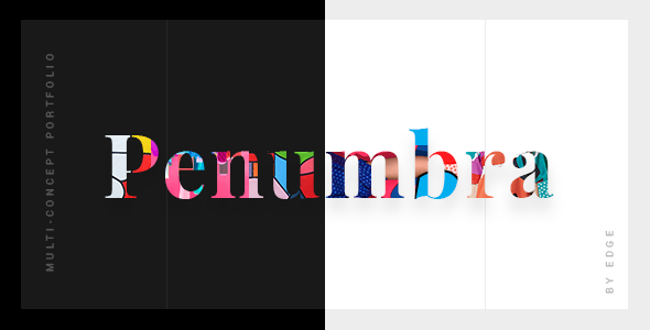 ThemeForest Penumbra A Contemporary Multi-Concept Portfolio 20953356
