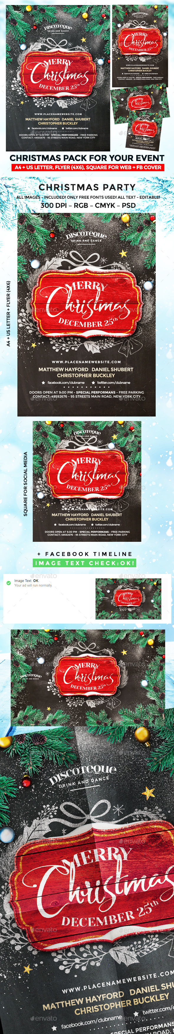 GraphicRiver Christmas Party 20987584