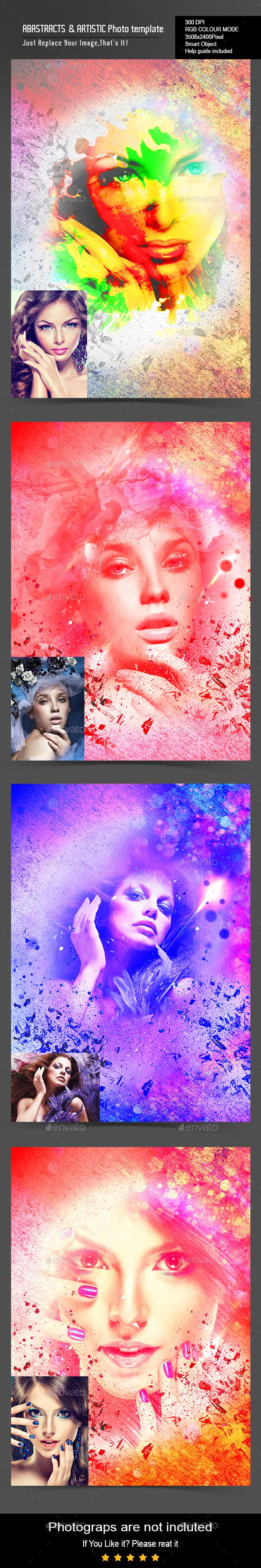 Artistic Photo Template - Artistic Photo Templates