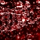 Breaking Red Transparent DNA Molecule