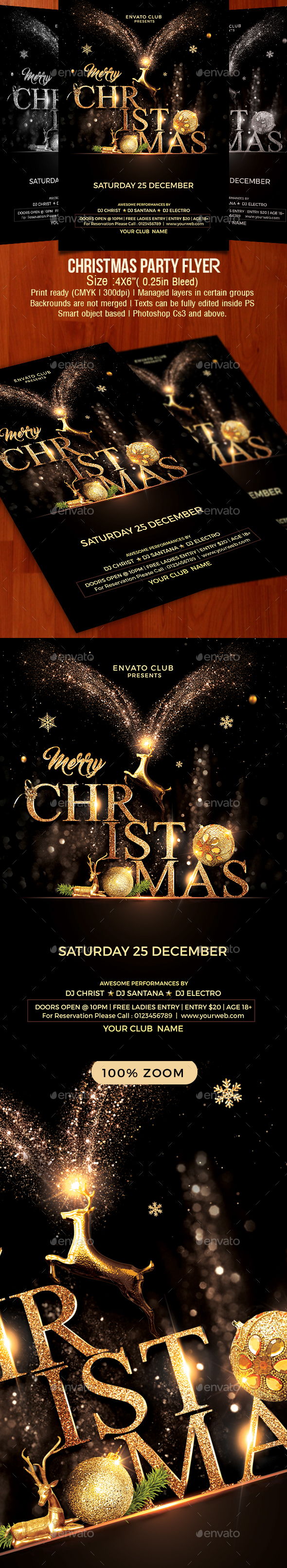 GraphicRiver Christmas Flyer 20987920