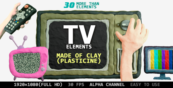 VideoHive TV Clay Plasticine Pack 20987922